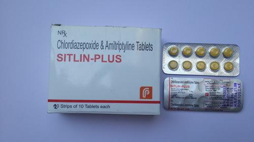 Chlordiazepoxide And Amitriptyline Tablets