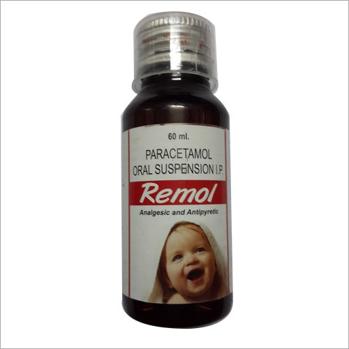 Paracetomol Oral Suspension Remol Syrup