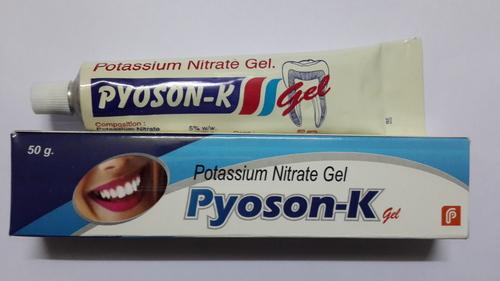 Potassium Nitrate Gel Pyoson K Gel