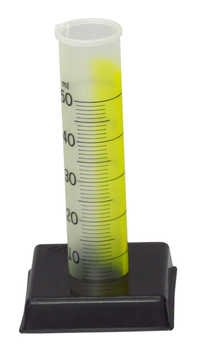 Cylinder Graduated Plastic Transparent Deluxe 50ml