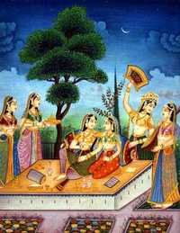 A ladies party marwar painting