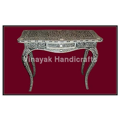 Bone Inlay French table