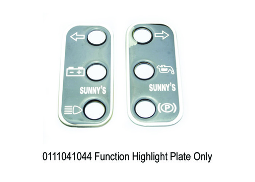 Function Highlight Plate Only