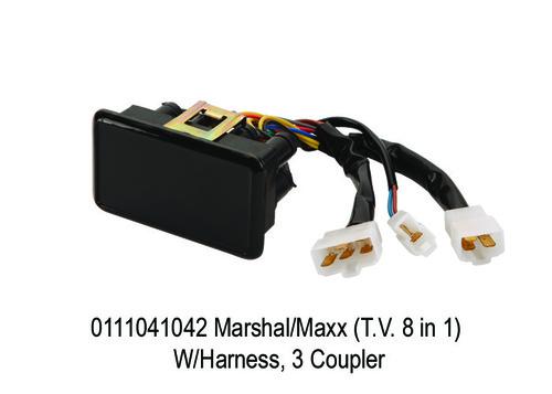 MarshalMaxx (T.V. 8 in 1) WHarness, 3 Coupler