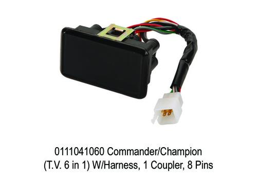CommanderChampion (T.V. 6 in 1) WHarness, 1