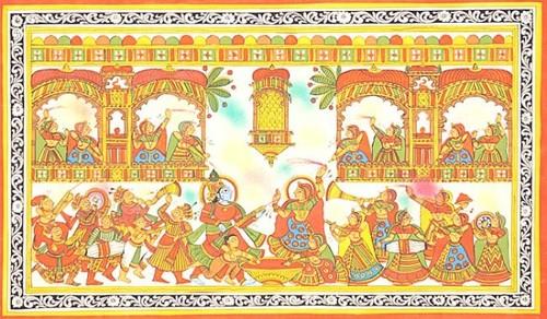 Krishnas holi