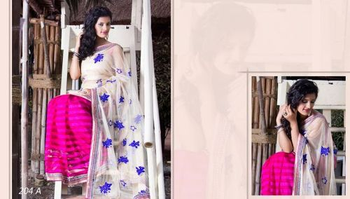 Designer Wedding Wear Saree