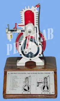 Two Stroke Petrol Engine Model