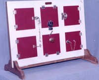 DOOR LATCH FRAME SET