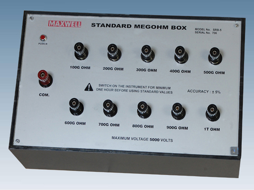 Standard Megohm Box
