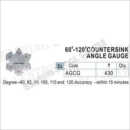 Degree Countersink Angle Gauge