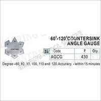 Degree Countersink Angle Gauge