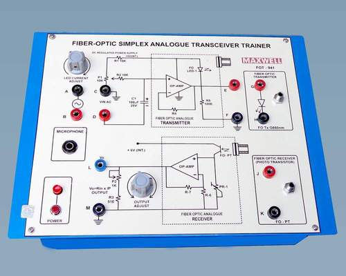 Fibre Optic Analogue Transceiver Trainer