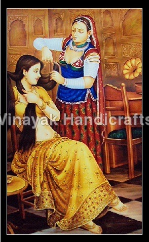 Treditional Canves Oil Painting