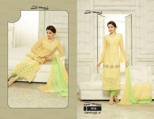 Heavy Designer Embroidery Dress