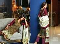 Cotton Fabrics Designer Dress Material
