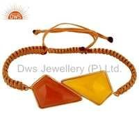 925 Silver Multi Gemstone Bracelet