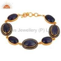 Natural Tanzanite Gemstone Bracelet