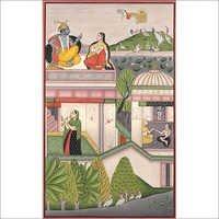 The month of agahan – Bundi painting