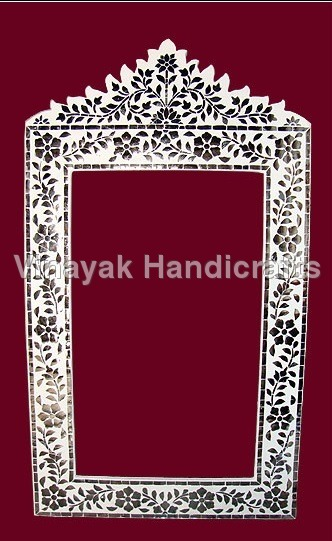 Designer Glass Inlay Mirror
