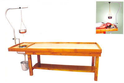 Massage cum Shirodhara Table