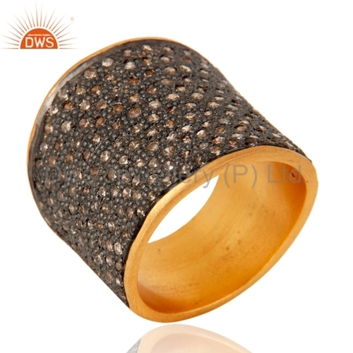 Pave Diamond Rings