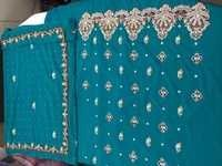Party Wear Unstitched Suit Material