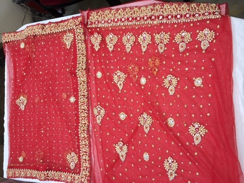 Heavy Work Salwar Kameez Material