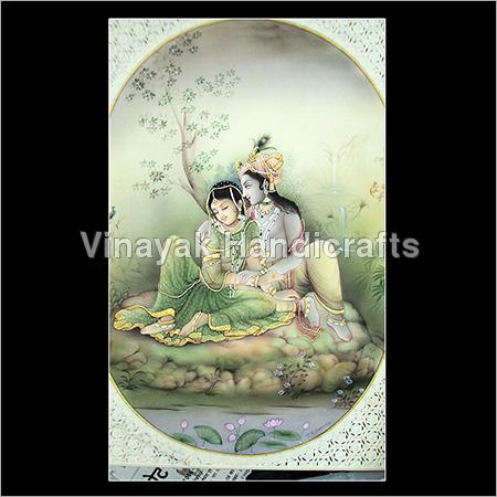 Krishna Miniature Painting