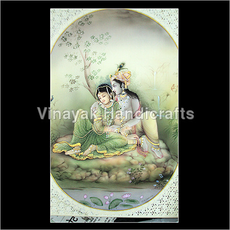 Krishna Miniature Painting