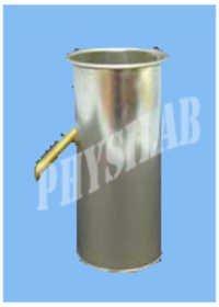 Tin Metal Displacement Vessel