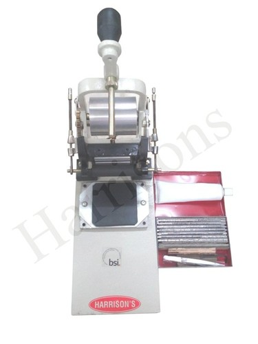Batch Printing Machine - Hand Operated