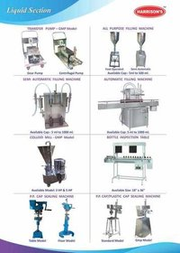 Liquid Filling Machinery