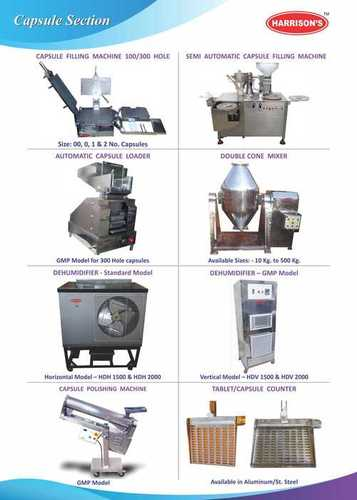 Capsule Dry Syrup Machinery