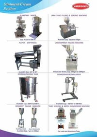 Ointment Machinery
