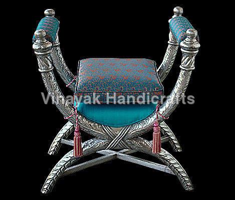 Roman Silver Chair