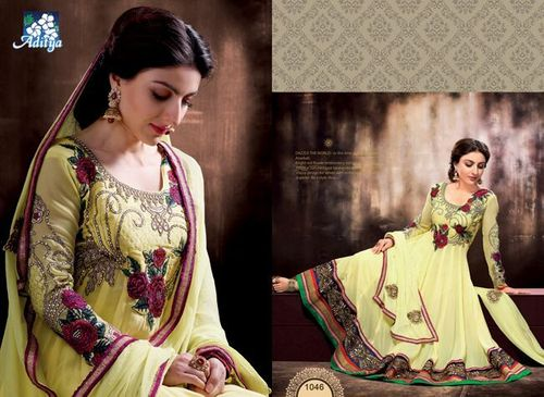 anarkali Fancy Suits Soha Ali Khan