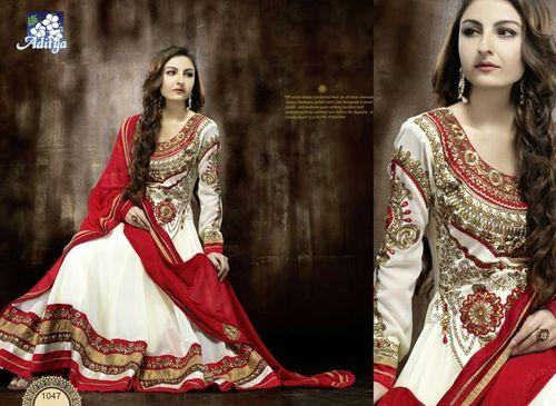 anarkali Fancy Suits Soha Ali Khan