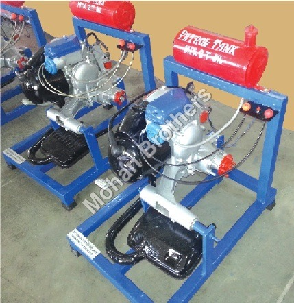 Two Stroke Single Cylinder Petrol EngineTrainer