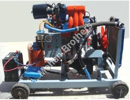 Four Stroke 3 Cylinder Petrol Engine MPFI Type
