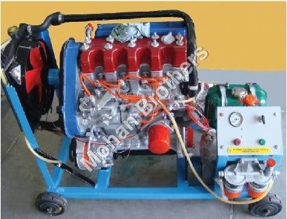 Four Stroke 4 Cylinder Diesel Engine Trainer