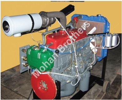 Four Stroke 6 Cylinder Diesel Engine Trainer