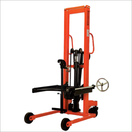 Drum Handling Stacker With Tilting Facility
