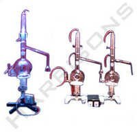 Glass Distillation Apparatus Automatic