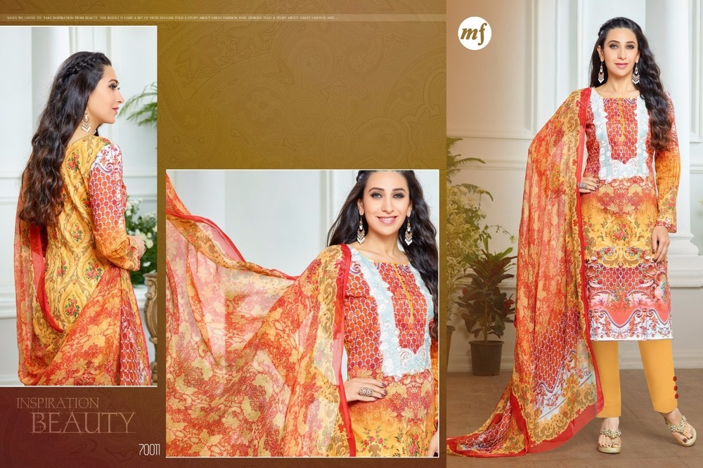 Pashmina Digital Printing Suit