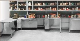 Lab Furniture (Under Counter with Granite Top)