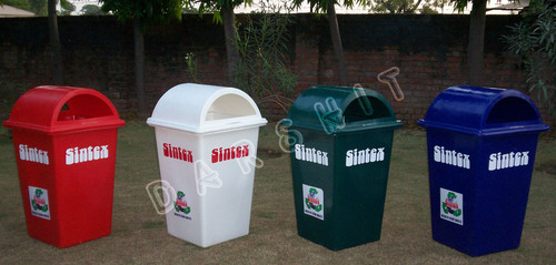 Sintex Rectangular Waste Bin With Open Top