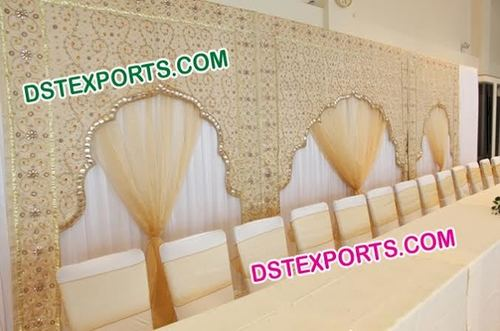 Wedding Stage Embrodried Arch Backdrops