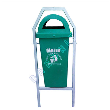 Sintex Rectangular Waste Bin with Permanent Structure