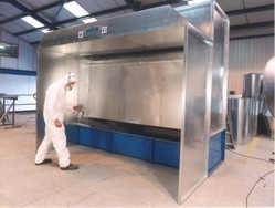 Manual Dry Spray Booth